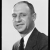 Portrait of W. E. Truesdell, Southern California, 1935