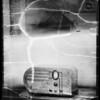 Philco radios, Southern California, 1936