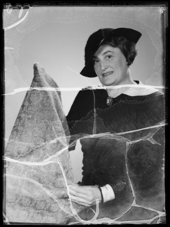 Portrait of Miss Alkire, Southern California, 1935