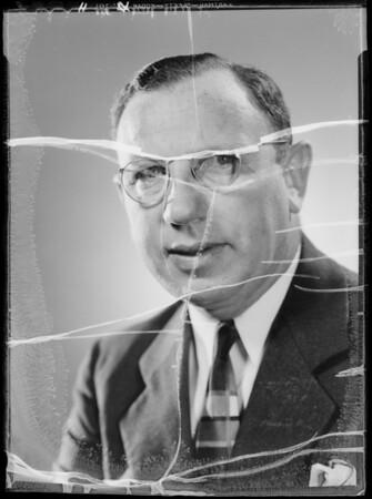 Portrait of Mr. Balkin, Southern California, 1935