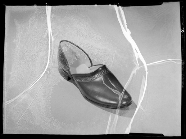 Slippers, Southern California, 1935