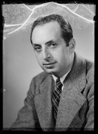 Portraits of Mr. Leonard, Southern California, 1935