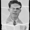 Mr. Clark, Compton Avenue, Los Angeles, CA, 1935