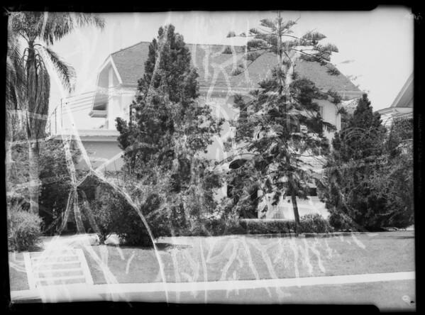 Building exteriors, Southern California, 1935