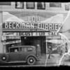 Exterior, Lou Beckman Furrier, Southern California, 1935