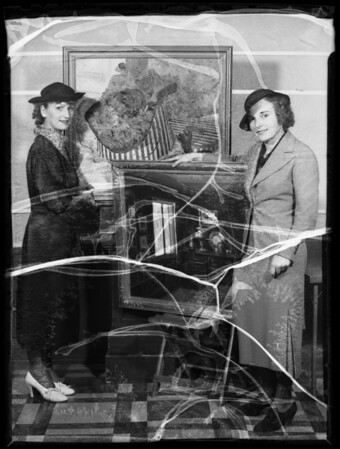 Winners of oil paintings, Southern California, 1935