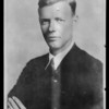 Lindbergh portrait, Southern California, 1927