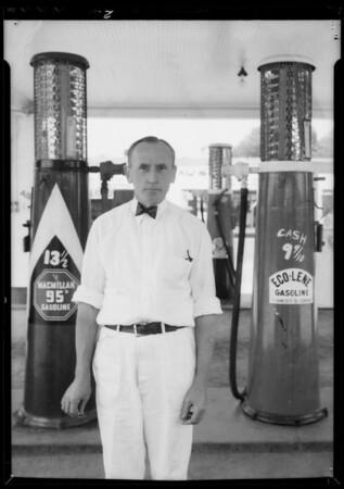 Station operators, Southern California, 1935