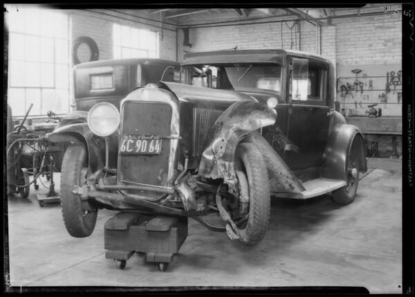 Buick, Burdett, owner, Southern California, 1935