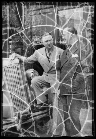 Mr. Packer and Al Fleming, Southern California, 1936