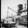 Harbor activity, Southern California, 1935