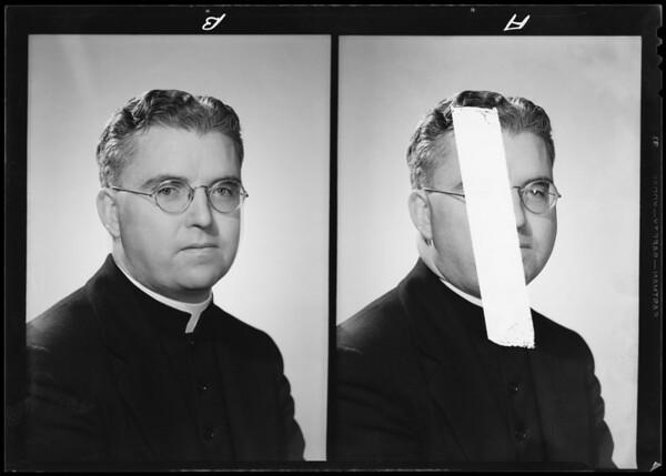 Portrait of self, Southern California, 1940