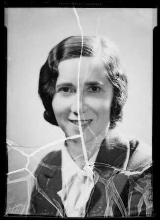 Portrait, Lola Kinel, Southern California, 1936