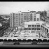 Progress shot of California Fruit Exchange Building, Los Angeles, CA, 1935