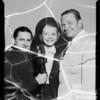 Wallace Beery, Harriet Hilliard [Harriet Nelson], Vic Young, Southern California, 1935