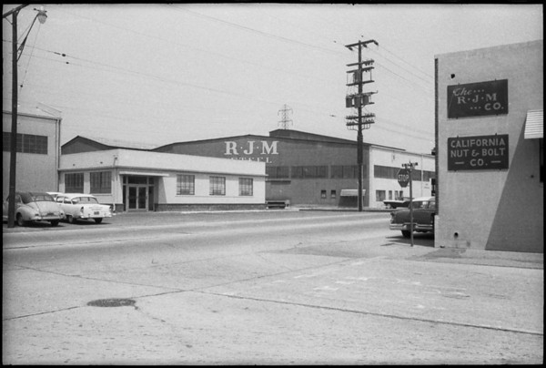 RJM Steel, Southern California, 1958