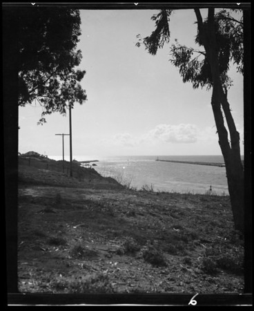 Their negatives of bay scenes, Newport Harbor Chamber of Commerce, Southern California, 1936