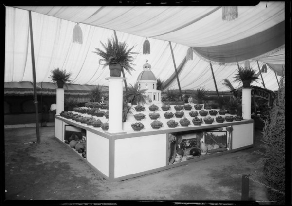Sacramento Booth at Southern California Fair, Southern California, 1926