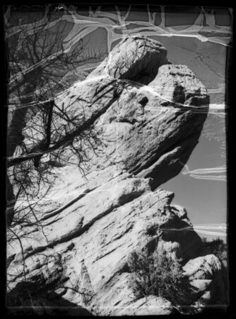 Motorlogue to Devil's Punchbowl, etc., Pearblossom, CA, 1936