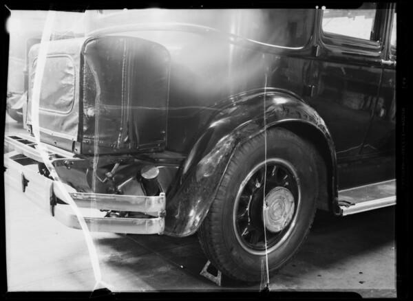 Pierce Arrow, Southern California, 1935