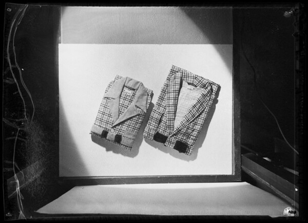 Pajamas, Southern California, 1935