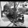 Safeway truck unloading into store, 1276 West Temple Street, Los Angeles, CA, 1940
