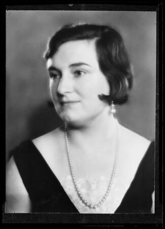 Portrait, Southern California, 1936