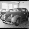 1939 Chevrolet sedan, Theo Kantzow owner, Copple Auto Works, 1032 South Olive Street, Los Angeles, CA, 1940