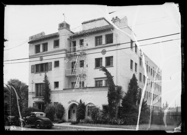 Villa Constance apartments, Southern California, 1935