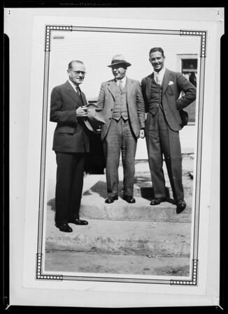 Kodak print, Mr. Evans, Dr. Locke Shoe Co., Southern California, 1935
