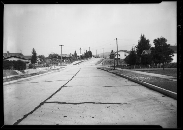 Intersection of West Avenue 41 and Valle Vista Drive, Los Angeles, CA, 1935