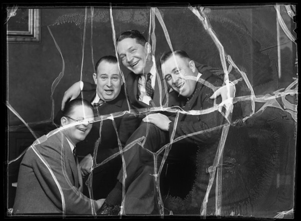 Quartette for Christmas card, Southern California, 1935