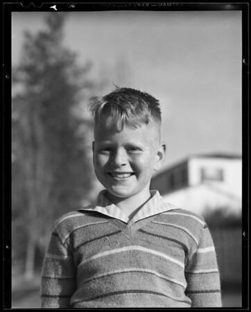 Boy - Tom Hinkel, 10279 Cheviot Drive, Los Angeles, CA, 1940
