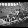 President Roosevelt at the Coliseum, Los Angeles, CA, 1935
