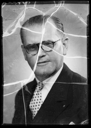 Portrait of Mr. Evans, Southern California, 1935
