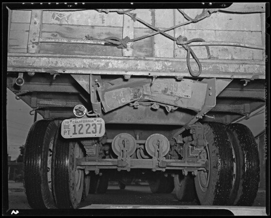 Truck #30, Albuquerque Express, 1450 Hooper Avenue, Los Angeles, CA, 1940
