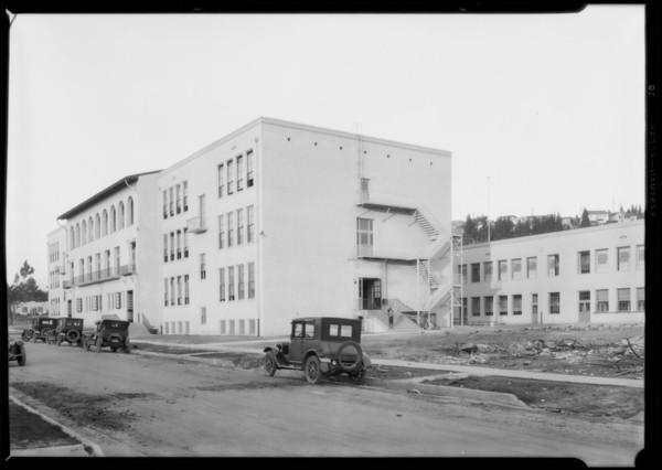 Thomas Star King School, Southern California, 1926
