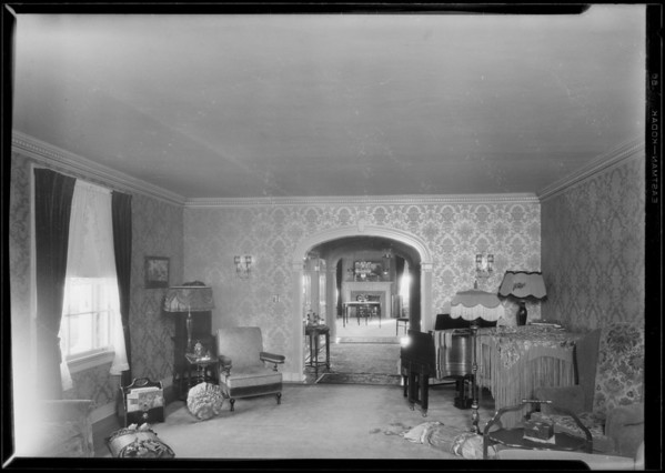 Andrew's home at Riviera, Santa Monica, CA, 1927