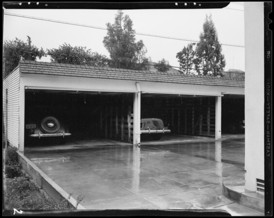 Driveway, 447 1/2 South Norton Avenue, Los Angeles, CA, 1940