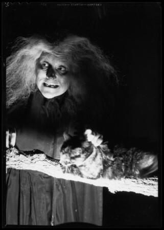 Martha Wentworth, radio character, Southern California, 1935