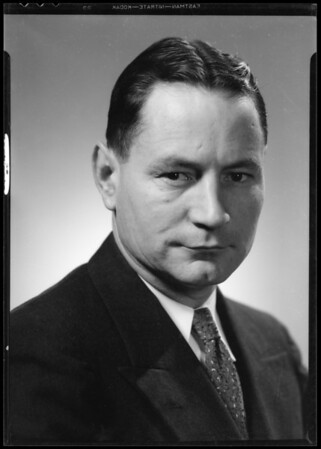 Portrait of Mr. W.W. Phelps, Southern California, 1935