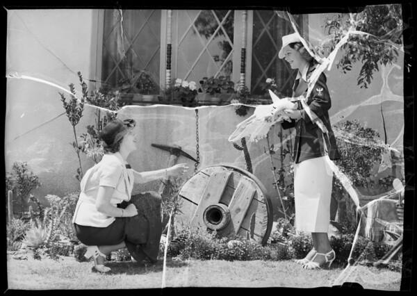 Sunset Park publicity, Santa Monica, CA, 1936