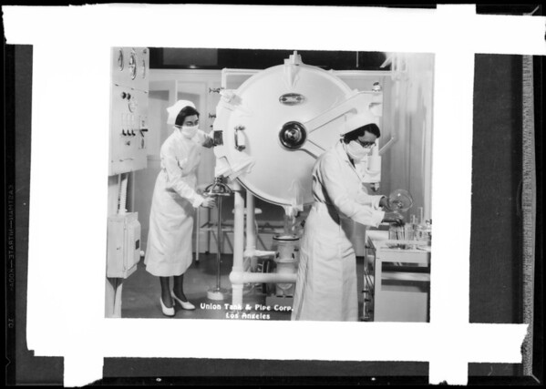Sterilizer, Southern California, 1935