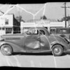 1935 Dodge coupe at Evergreen Auto Park at 145 North San Fernando Road and intersection of West Avenue 26 and Idell Street, Los Angeles, CA, 1935