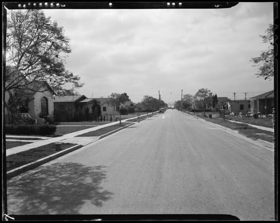School Avenue, Belvedere Gardens, East Los Angeles, CA, 1940