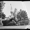 Joan of Arc float in Rose Parade, Pasadena, CA, 1936