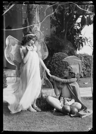 """Ola"" and ""Joy"", Southern California, 1935"