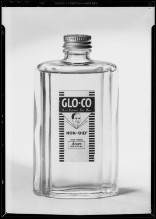 Glo Co bottle, Southern California, 1935