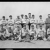 Axelson Machine baseball team, Southern California, 1926