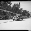 Testing cars for motor knocks, Southern California, 1935